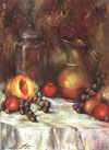Claretta White Paints Still Life